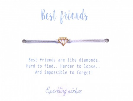 SW - Best friends armbånd