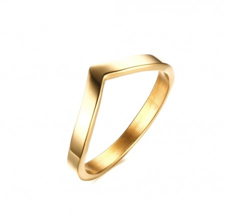 JT - Gold plated victory ring