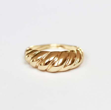 JT - Tykk twisted ring